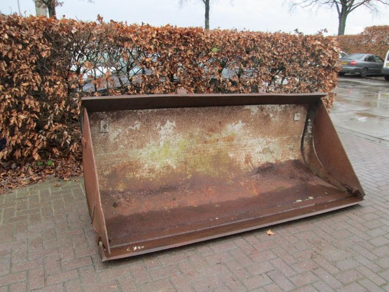 shovel puinbak met inlegvel systeem 2000